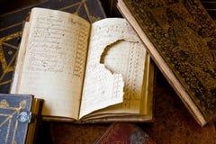 书损坏的数据损失 库存图片