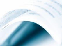 书摘要。 免版税库存图片