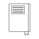 书日志目录办公室概述 向量例证