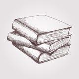 书架传染媒介剪影  库存照片