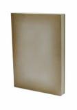 书查出的褐色盖子 图库摄影