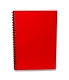 书查出的附注红色影子 免版税库存图片