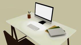 书桌办公室 免版税库存照片