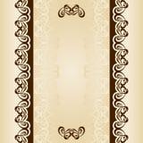 书法装饰品框架集合 免版税库存照片