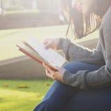 读书激发灵感想法计划计划概念 库存照片