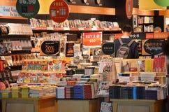 书的顾客商店 免版税图库摄影