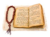 书祷告 免版税库存图片