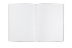 书空白 免版税库存图片