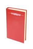 书空的红色 免版税库存图片