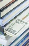 书签美元一百 免版税库存照片