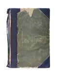 书籍装订用布磨损了老精装书 免版税图库摄影