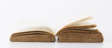 书老白色 免版税库存照片