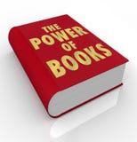 书词的力量在书套重要性读的 向量例证