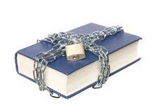 书链锁定 图库摄影