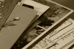 书面的内存 免版税库存图片