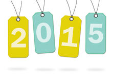 书面的标记2015年 免版税库存图片