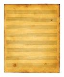 书音乐纸张 免版税库存图片