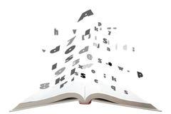 书飞行表单文本 免版税库存图片