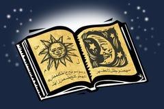 书魔术 库存例证