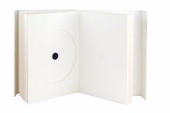 书CD的dvd程序包 免版税库存照片
