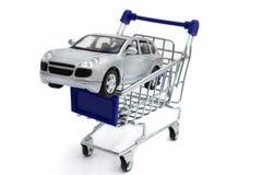 买一辆新的汽车 库存图片