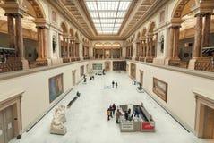 买到艺术皇家博物馆的访客票,在1803年建立 库存图片