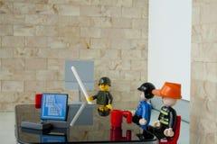买卖人办公室工作 免版税库存图片