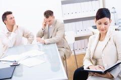 买卖人办公室 免版税库存照片