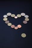 买对金钱的爱 库存照片