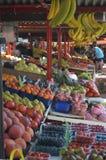 买菜在卢布尔雅那 库存图片