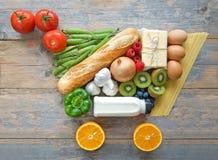 买菜概念 免版税库存图片