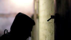 乱砍锁的窃贼 股票录像