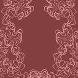乱画在棕色墙壁上,在葡萄酒样式传染媒介 性商店设计的背景 亲密的海报 余兴节目卡片 皇族释放例证