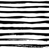 乱画在背景的剪影抽象无缝的样式 纺织品的,纸黑白例证 免版税库存照片