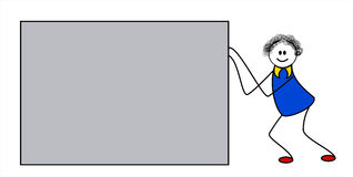 乱画字符 皇族释放例证