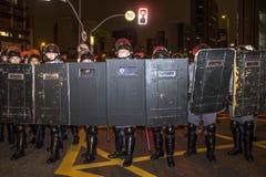 暴乱 免版税图库摄影