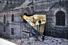 乳头商城在耶路撒冷以色列 免版税库存图片