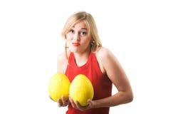 乳房新的试用品 库存图片