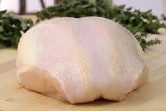 乳房火鸡 库存图片