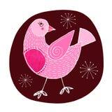 乳房红色知更鸟 免版税图库摄影