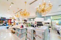 乳汁床垫、枕头和毯子待售,泰国模范ma 免版税库存图片