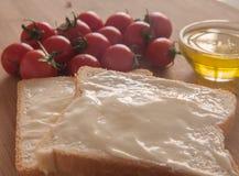 乳脂干酪 免版税库存照片