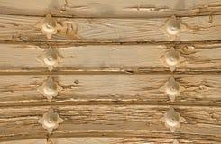 乳脂状的弯曲的板,传统背景 免版税库存照片