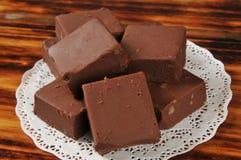 乳脂软糖正方形 免版税库存照片