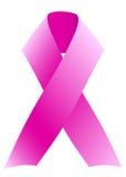 乳腺癌丝带 图库摄影