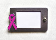 乳腺癌了悟 免版税库存照片