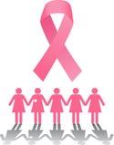 乳腺癌集会 库存图片