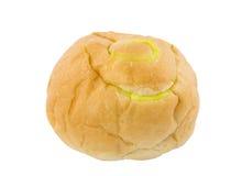 乳蛋糕面包 免版税库存图片