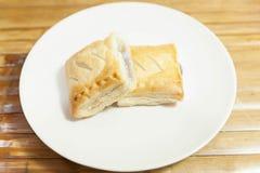 乳蛋糕饼 免版税库存图片