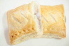 乳蛋糕饼 库存图片